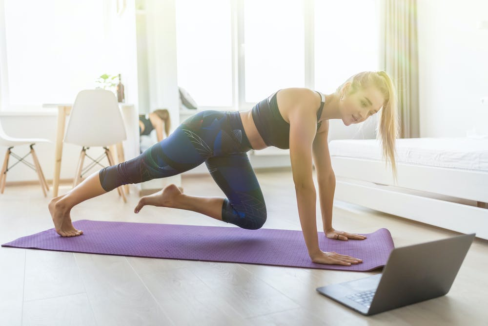 Try These Workouts From Your Room