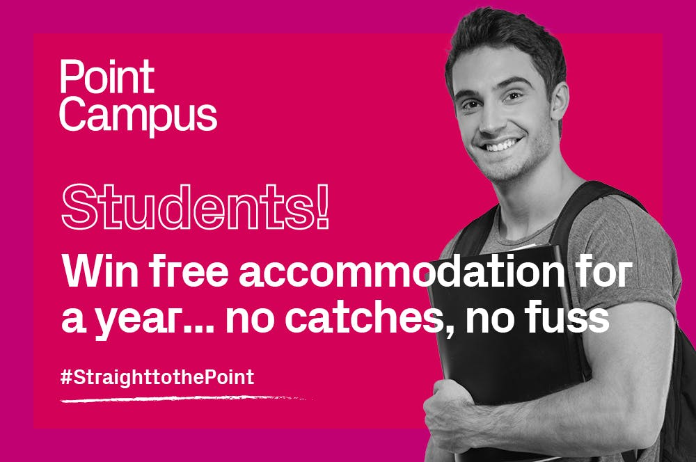 Would you like to live RENT FREE in Dublin's hottest student accommodation?